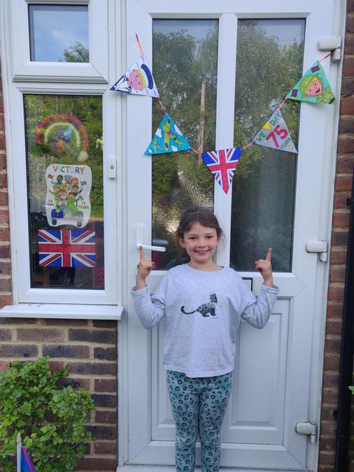 Fantastic V E day decorations Martha!
