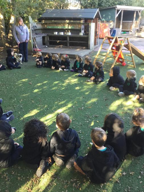 Today I met all the children in Ducklings class.