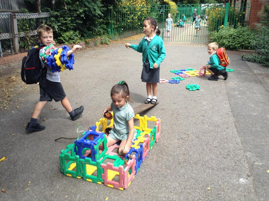 Creating our very own pirate ship!