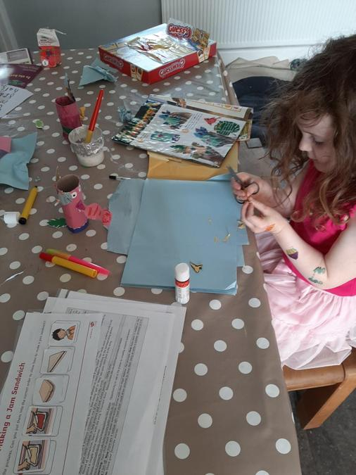 Well done for following the instructions Poppy!