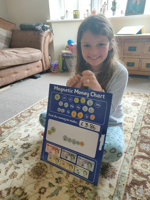 What a cool maths game Martha. Very good learning.