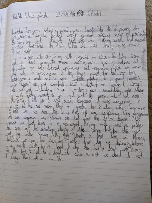 A fantastic and exciting story by Robyn!