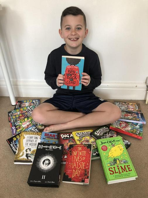 16 books and counting, Beau! Impressive!