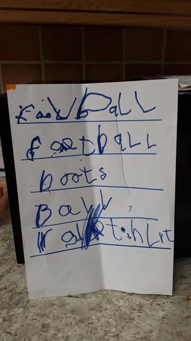 Football keywords-Super writing Leo!