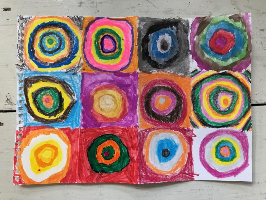 Nuala's Kandinsky circle