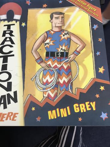 Traction Man by Mini Grey