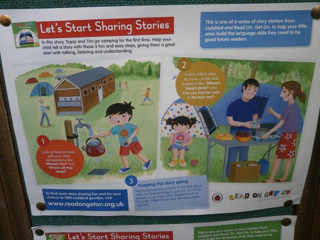 Share a story poster.