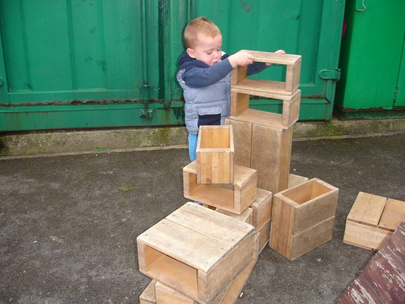 building structures from blocks