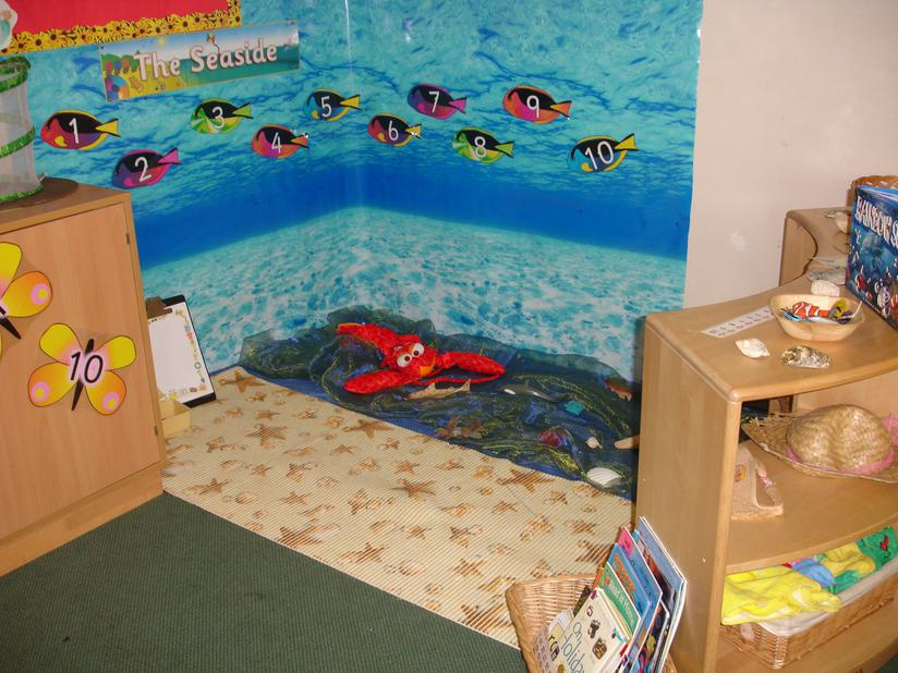 seaside role play area
