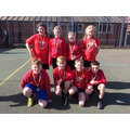 Y56 Netball Team - 2nd place