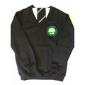 New Tie and Jumper with Logo - Sample Only