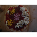 Osian and his brother made their own pizzas