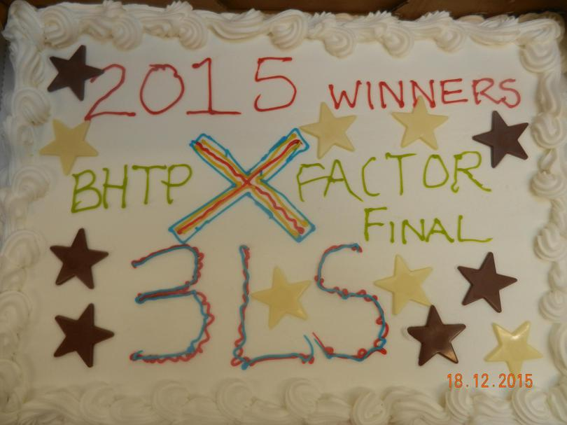 X Factor winners - 3LS