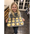 Millie's fairy cakes. They look delicious!