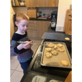 Max's chocolate chip shortbread
