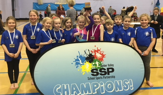 Year 3/4 Gymnastics Competition Winners March 2018