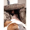 Poppy dog is jealous of Poppy