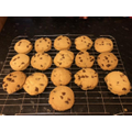 Max's chocolate chip shortbread. Don't they look yummy!