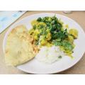 Eilis' curry!
