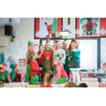 Mama Elf tells the Christmas Story and all's well!
