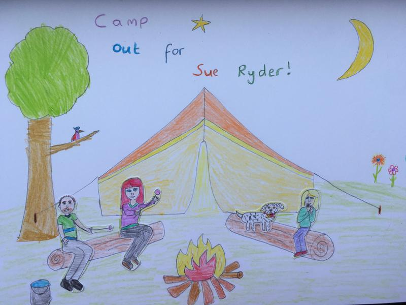 Polly planned a camping trip!