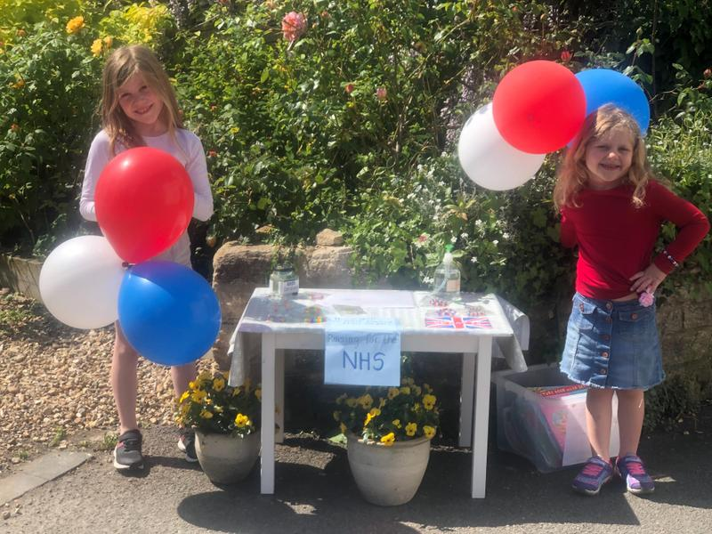 Ava and Poppy raise over £200 now!