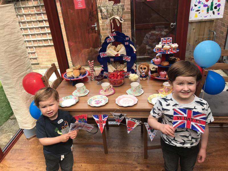 Indie's VE Day tea!