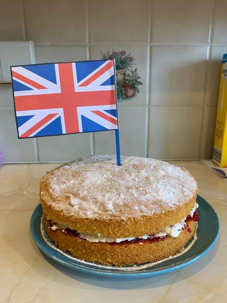 Mrs Arthur baked a cake!