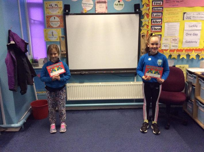 EYFS and KS1 Stars of the Week - Friday 12th June