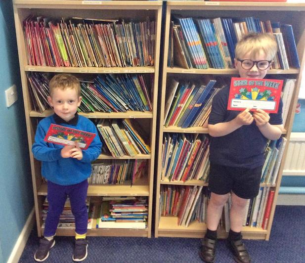EYFS and KS1 Stars of the Week - Friday 19th June