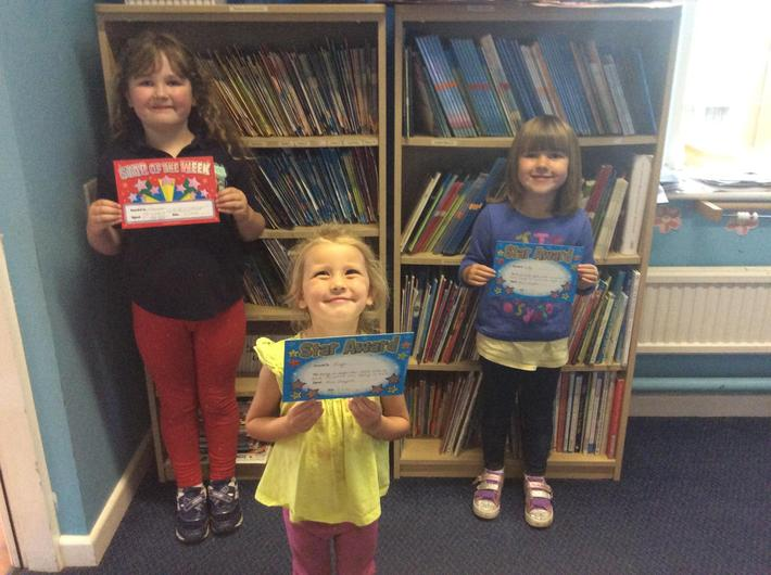 EYFS and KS1 Stars of the Week - Friday 3rd July