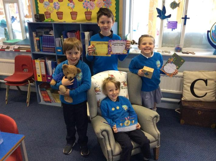 Well done Maddox, William and Annabelle