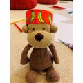 A banana crown for Eli's monkey