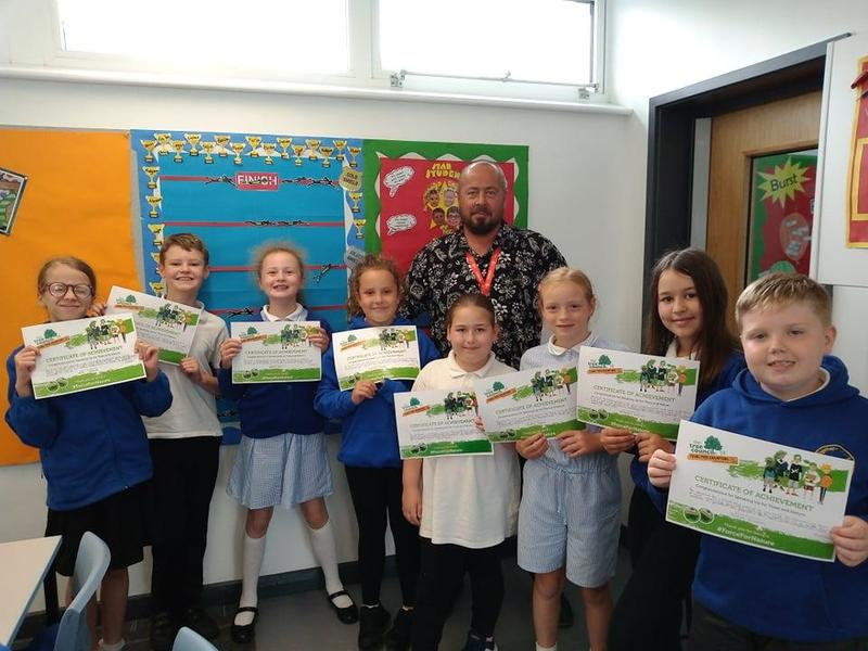 Year 5 Speaking up for Nature Finalists