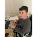 Luke is another carrot fan!