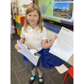 Izzy wrote a wonderful letter to Green Peace and they replied!