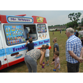 Mr Whippy pays a visit with free ice-creams