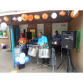 The steel band was a joy to listen and relax to