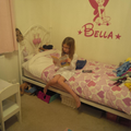 Bella (Year 3) reading before bed