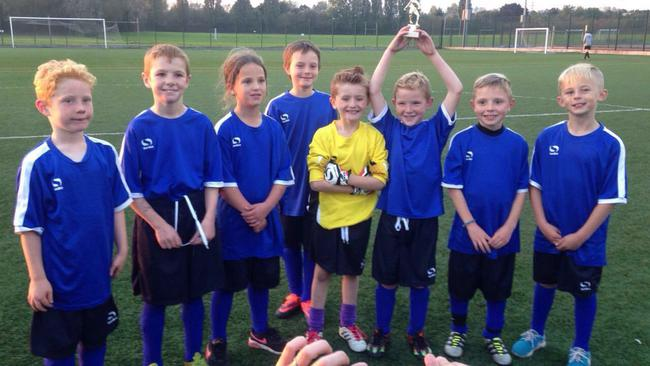 Well Done Year 3/4 on winning the tournament!