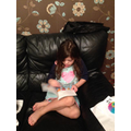 Lily (Year 2) with her bedtime story