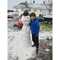 What a great snowman!