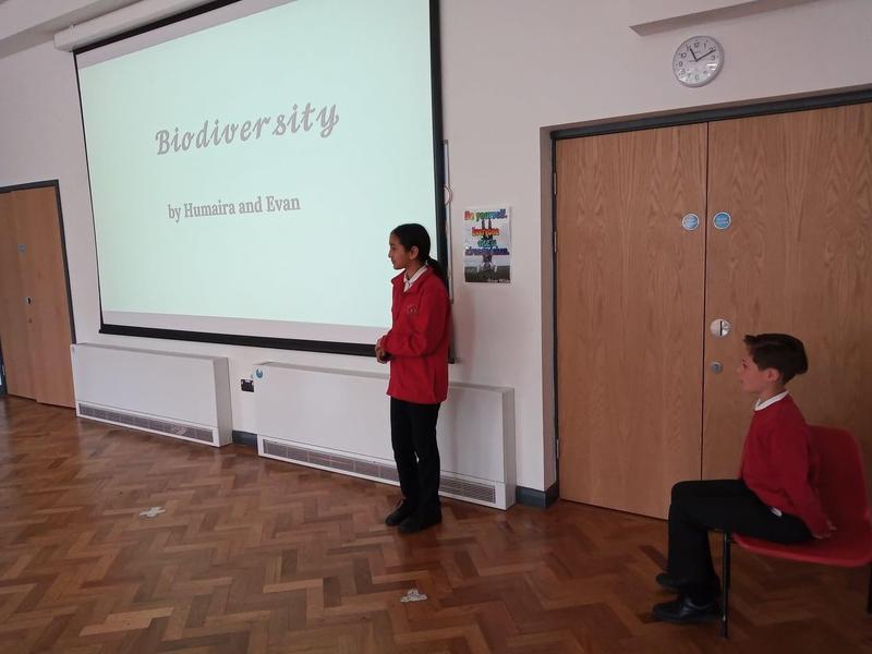 Year 6 Biodiversity assembly