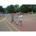 Balloon sword fighting - the new craze!