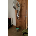 Luke created a hot air balloon