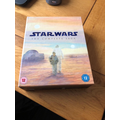 Zac recommends the whole of the Star Wars saga and I could not agree more! Great choice!
