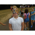 The face painting stall was a great success