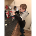 Alfie Baking a Mug Cake!