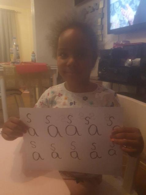 Mia letter formation