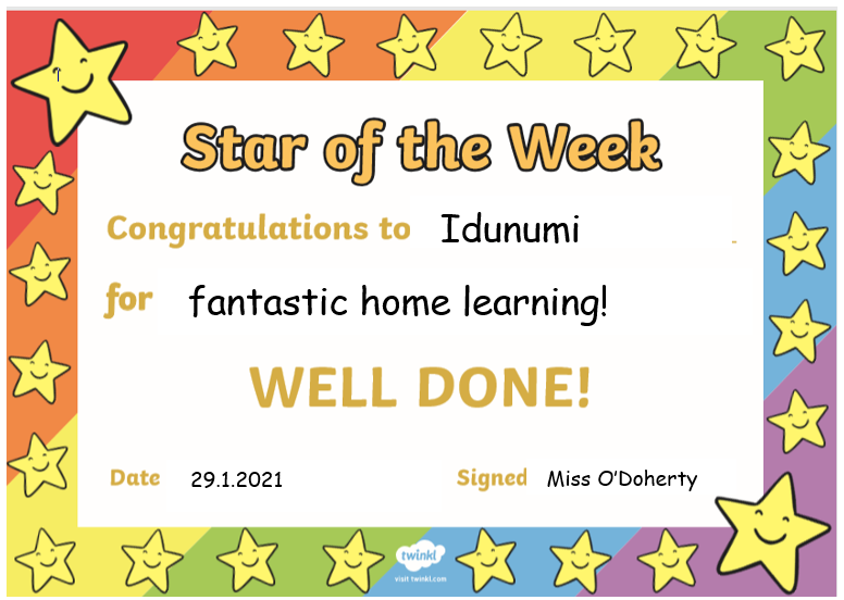 Well done Idunumi! I'm so proud of you!